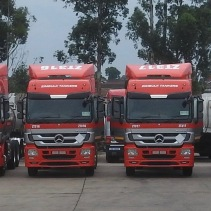 Delivery of brand new Mercedes Trucks 27.01.17