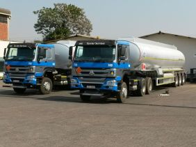 Truck and tanker units